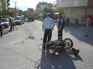 Beyşehirde kaza: 1 yaralı