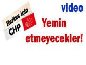 CHP Meclise girmeyecek!