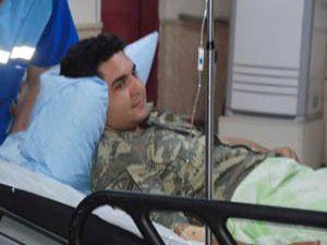 Konyada silahlı kavga: 1 asker 6 yaralı