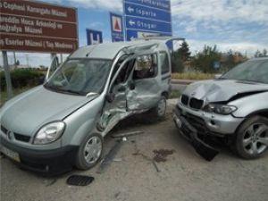 Konyada trafik kazası: 1 ağır yaralı