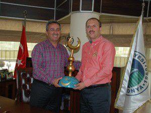 AK Parti Meramdan Başkan Hançerliye ziyaret