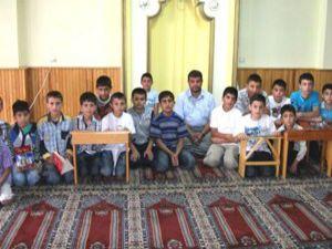 Karapınarda yaz Kuran kursları başladı