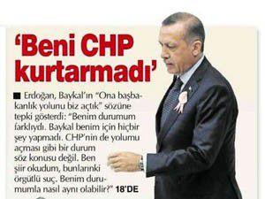 Erdoğan: Ben cezamı çekmiştim