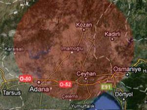 Adanada deprem
