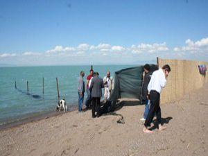Beyşehir Karaburun Plajı hizmete girdi