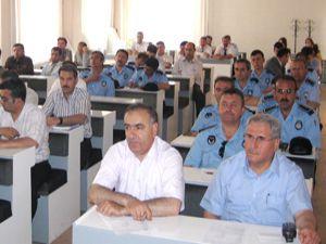 Belediye personeline insan hakları eğitimi