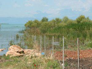 Beyşehirde ekili alanları su bastı