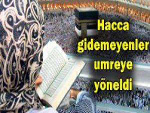 Ramazan umresinde yer kalmadı