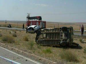 Kuluda feci kaza: 1 ölü 4 yaralı