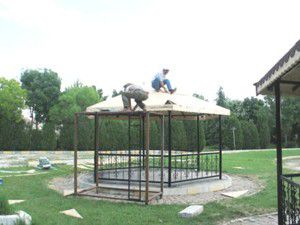 Altınekin Turgut Özal Parkında tadilat