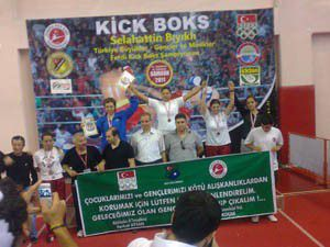 Kick boksta Konyanın gururu oldular