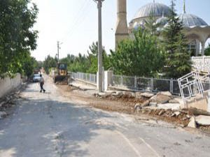 Kürden Mahallesinde yollar yenileniyor