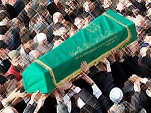 Deniz Baykalda cenazeye katıldı