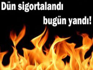 Konyada şüpheli yangın