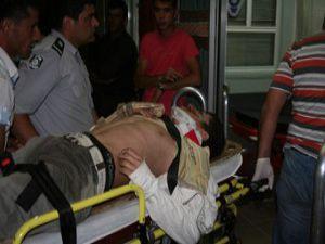 Konyada traktör devrildi: 2 yaralı