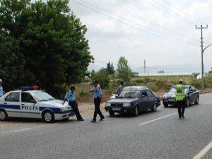 Seydişehirde polis denetimleri