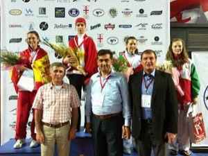 Maide Nur Sultan Avrupa Şampiyonu