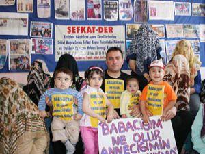 Şiddet yanlısı babaya karşı kampanya