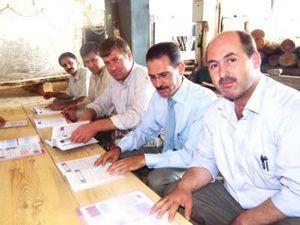 Akşehirde iş yerinde Kuran eğitimi