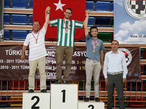 Selçuklu şampiyonlara ev sahipliği yaptı