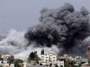 İsrail yine bombaladı!