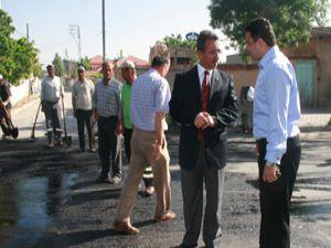 Karatayda asfaltlar yenileniyor