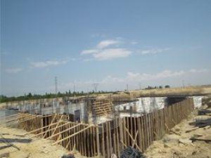Akşehirde hastane inşaatı devam ediyor