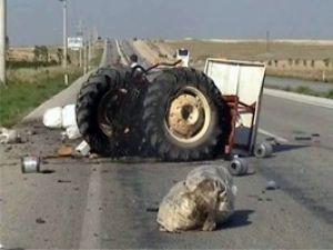 Konya-Aksaray yolunda kaza