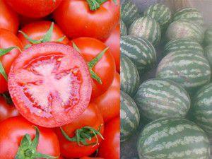 Karpuzun fiyatı geriledi, domatesin yükseldi