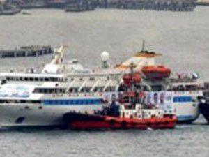 Gazzeye yardım gemisi kuşatıldı
