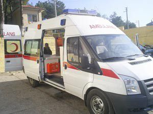 Ambulanslar görevde olunca yaralılar bekledi