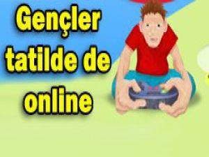 İnternet alışkanlığı hız kesmiyor