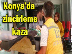 Konyada trafik kazası: 2 ölü, 7 yaralı