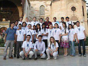 Fransız öğrenciler Mevlana Müzesini gezdi