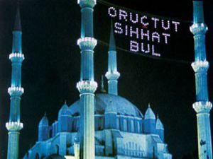 Mahya geleneği camileri süsleyecek