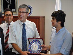 YGS Şampiyonu KTO Karatay Üniversitesini gezdi