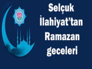 Selçuk İlahiyat Ramazan ile şenleniyor