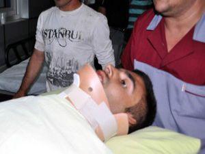 Konyada otomobil dereye uçtu: 1 ölü, 22 yaralı