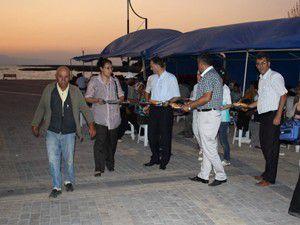 Vuslat Parkında iftar sofrası kuruldu