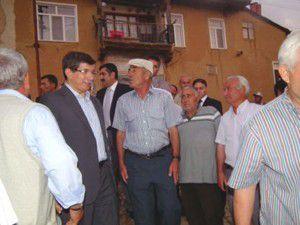 Dışişleri Bakanı Ahmet Davutoğlu Doğanhisarda