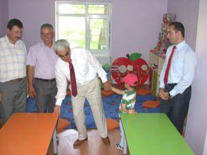Anne çocuk eğitim merkezi açıldı