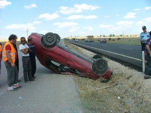 Kuluda otomobil takla attı: 3 yaralı