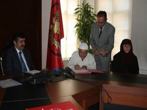 Konyada eğitime destekte 173. protokol imzalandı