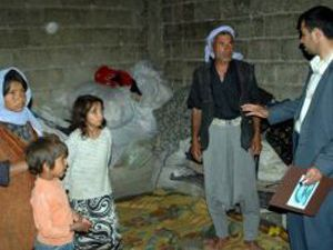 Halkapınarda 225 aileye gıda yardımı