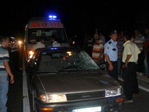 Camiye giderken kazada can verdi