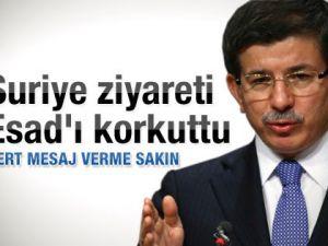 Suriyeden Türkiyeye küstah yanıt