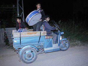 Bunlar da motorize Ramazan davulcusu
