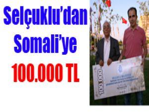Selçukludan Somaliye bağış
