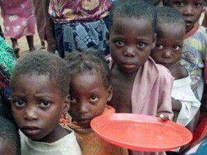 Afrika için çocuklar bile seferber