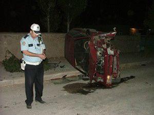 Konyada kaza: 2 yaralı